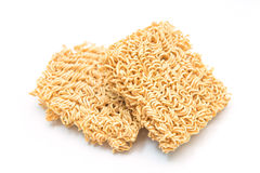 Instant noodle quickly cooking for eat Royalty Free Stock Photos
