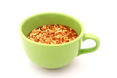 Instant noodle soup Royalty Free Stock Photography