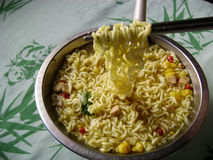 Free Instant Noodle Soup Royalty Free Stock Image - 62635936