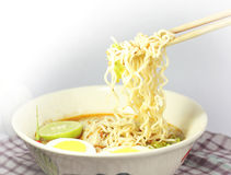 Instant noodle Stock Photos