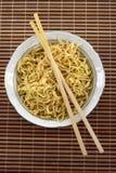 Instant noodles Stock Photos