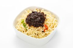 Instant noodles Royalty Free Stock Photography