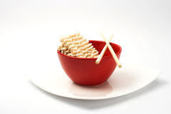 Instant noodles Stock Photo