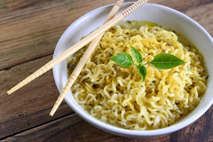 Instant noodles Royalty Free Stock Photo