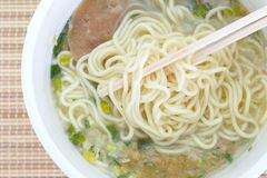 Instant noodles Stock Images