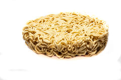 Instant noodles closeup tasty fastfood Royalty Free Stock Photo