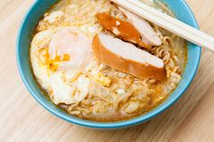 Instant noodles. Royalty Free Stock Photo