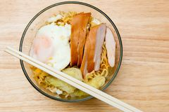 Instant noodles. Royalty Free Stock Photography