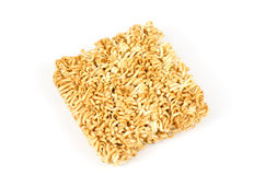 Instant noodles. Image of instant noodles on white background Royalty Free Stock Photo