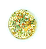 Instant noodles in a cup Royalty Free Stock Image