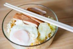 Instant noodles. Stock Images
