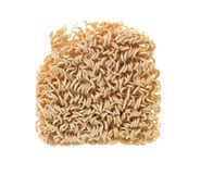 Instant noodles. Isolated on background Royalty Free Stock Photos