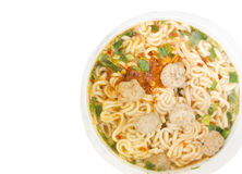 Instant noodles. Stock Image