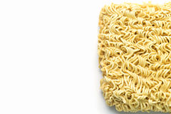 Instant noodles isolated on white background. Noodle, Instant noodles isolated on white background Stock Image