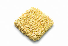 Instant noodles isolated on white background. Noodle, Instant noodles isolated on white background Royalty Free Stock Photography