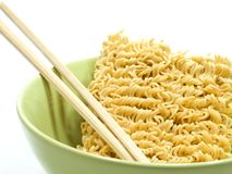 Instant noodles isolated Royalty Free Stock Image