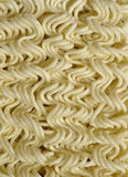 Instant noodles, macro Royalty Free Stock Photo