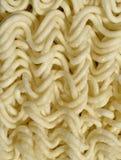 Instant noodles, macro Stock Images