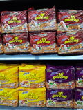instant noodles maggi cup Stock Photo
