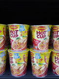 instant noodles maggi cup Royalty Free Stock Images