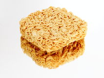 Instant noodles on the miror Royalty Free Stock Photography