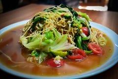 Instant noodles Salad Stock Photos