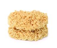 Instant noodles on white bakground. Instant noodles isolated on white bakground Stock Photography