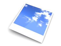 Instant Photo Royalty Free Stock Photo