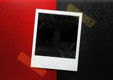 Instant photo Stock Image