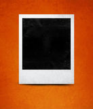 Instant photo. With black area with room to add image Stock Images
