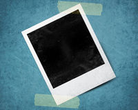 Instant photo. With black area with room to add image Royalty Free Stock Photography