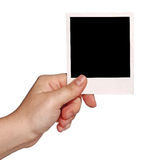 Instant photo Royalty Free Stock Image