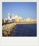 Instant photo of Cadiz Royalty Free Stock Image