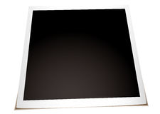 Instant photo flat Stock Images