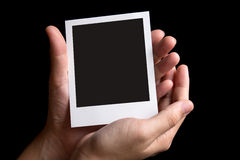 Instant photo frame Royalty Free Stock Image