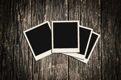 Instant photo frame Royalty Free Stock Photo