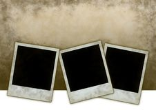 Instant photo frames Royalty Free Stock Photography
