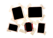 Instant photo frames set Royalty Free Stock Photos