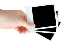 Instant photos Stock Photography