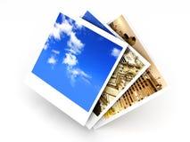 Instant Photos Stock Photo