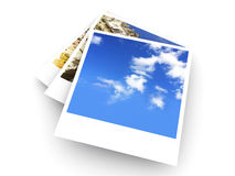 Instant Photos Royalty Free Stock Photography