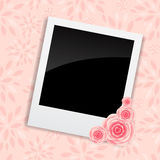 Instant photos with clip vector illustration. This is file of EPS10 format Royalty Free Stock Image