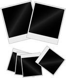 Instant photos. Illustration of an instant photos' set Royalty Free Stock Image