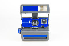 Instant print camera Royalty Free Stock Image