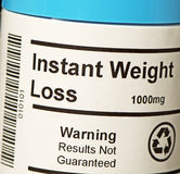Instant Weight Loss Royalty Free Stock Image