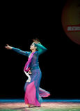 Instantaneous--Chinese folk dance Royalty Free Stock Images