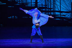 """Instantaneous-Dance drama """"The Dream of Maritime Silk Road"""" Royalty Free Stock Images"""