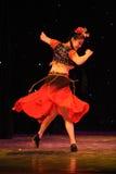 Instantaneous-Xinjiang folk dance Stock Images