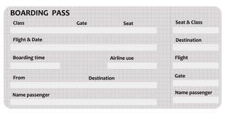 Instapkaart vector illustratie