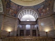 Insterior Jefferson MO los E.E.U.U. del capitol del estado de Missouri imagen de archivo libre de regalías